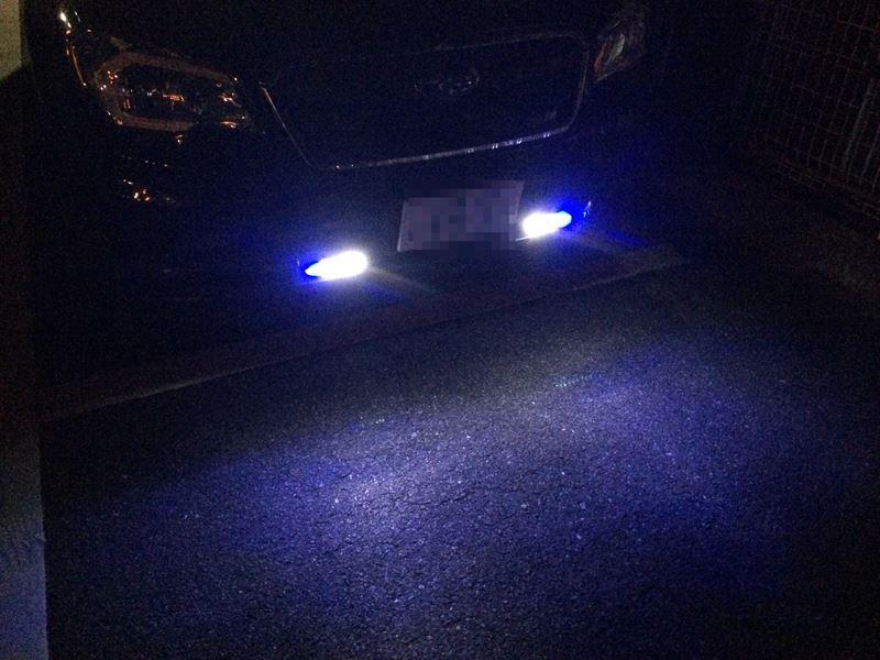 フォレスター DBA-SJ5 LEDデイライト