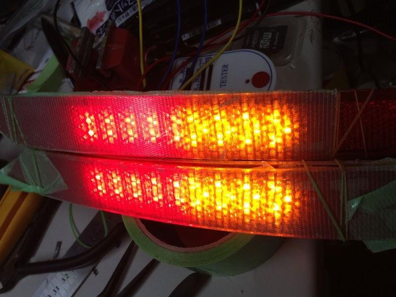フォレスター DBA-SJ5 LEDリフレクター