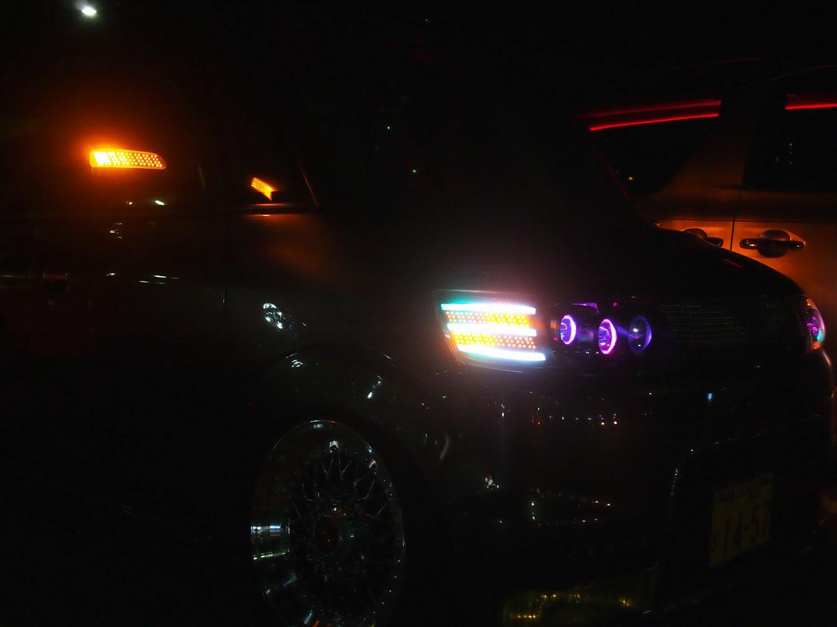 タントカスタム L350S LEDテール