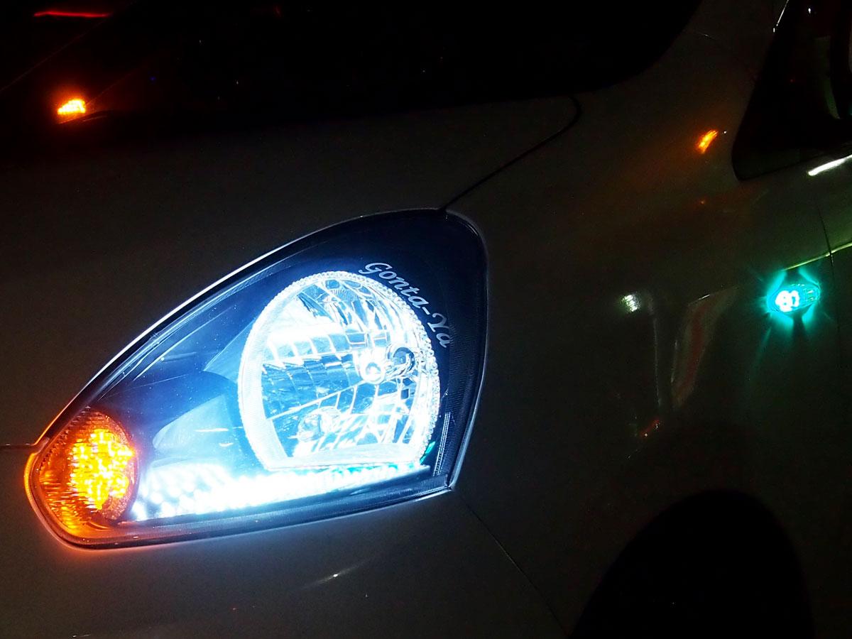 ミライース LED加工