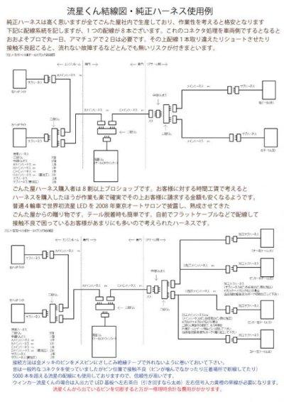 画像3: ごんた屋の流星くんウィンカー115パターン 8ブロック 外スイッチ仕様