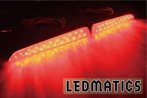 画像1: LA600S タント カスタム LEDリフレクター 42 (1)