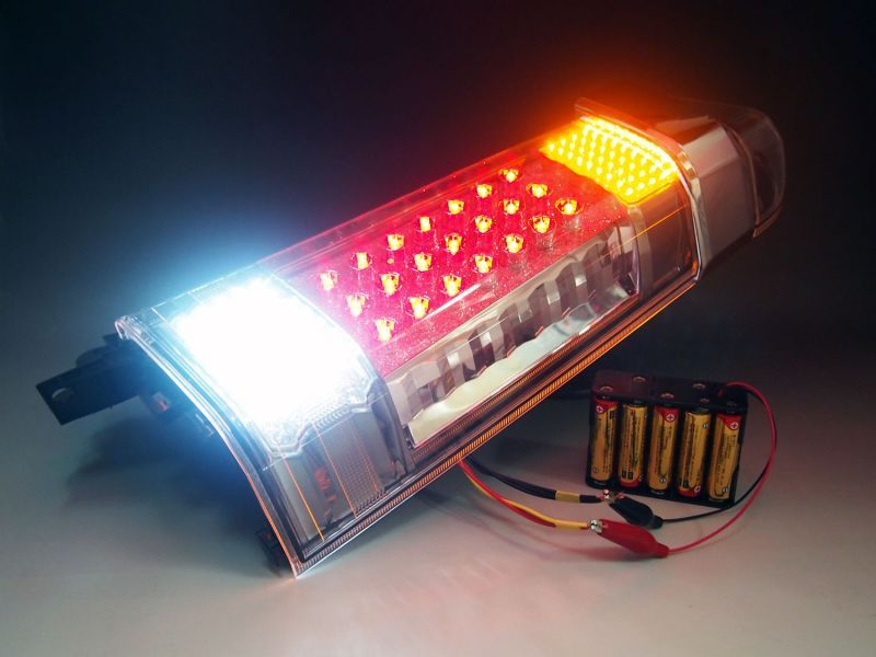 LED点灯実験用乾電池ボックス